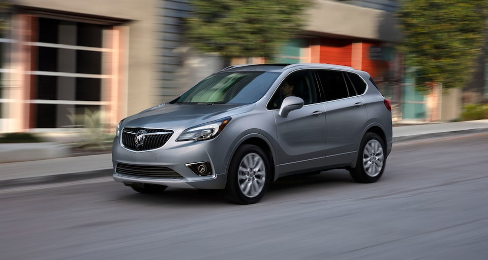 2020 Buick Envision Compact SUV Start-Stop Technology