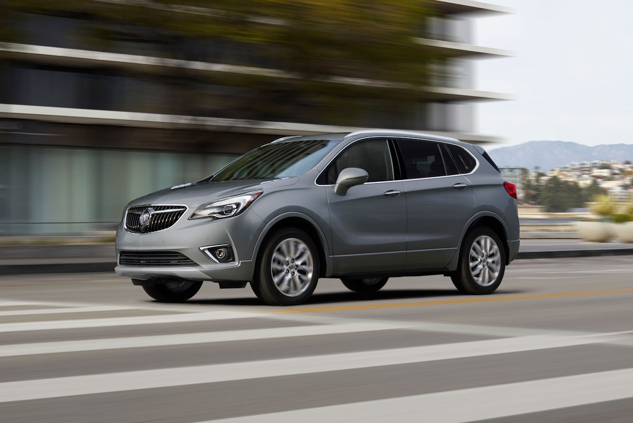2020 Buick Envision Compact SUV Safe Lane Assist