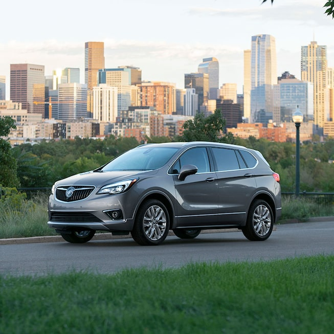 2020 Buick Envision Compact SUV Side Exterior