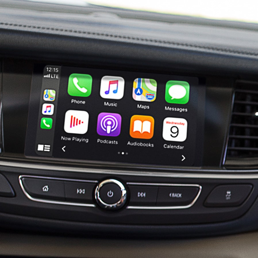 2020 Buick Regal TourX Luxury Wagon Touch Screen with Apple Carplay