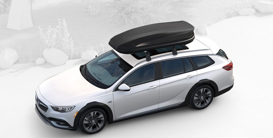 2020 Buick Regal TourX Luxury Wagon Roofrails with Carrier