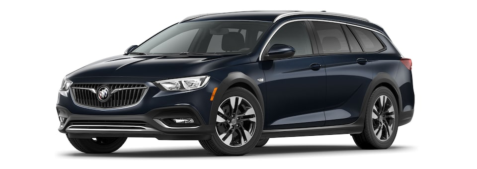 2020 Buick Regal TourX Essence Trim Luxury Wagon in Dark Moon Blue Metallic