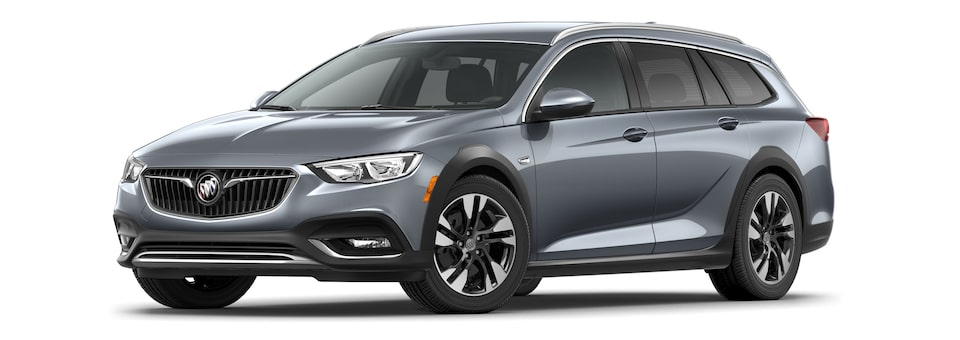 2020 Buick Regal TourX Essence Trim Luxury Wagon in Satin Steel Metallic