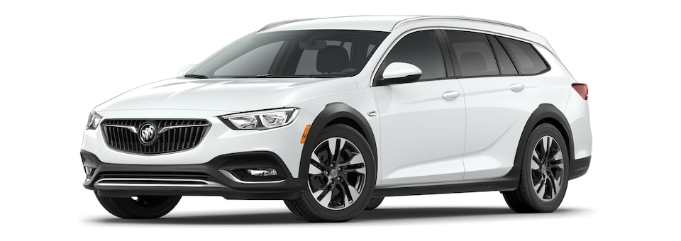 2020 Buick Regal TourX Essence Trim Luxury Wagon in Summit White