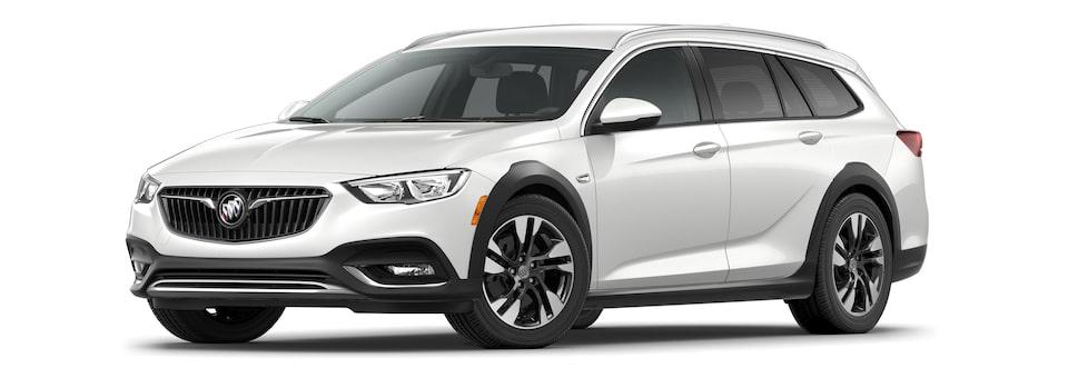 2020 Buick Regal TourX Essence Trim Luxury Wagon in White Frost Tricoat