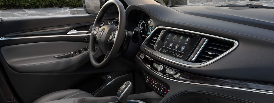2020 Buick Enclave mid-size luxury SUV Interior Features masthead image