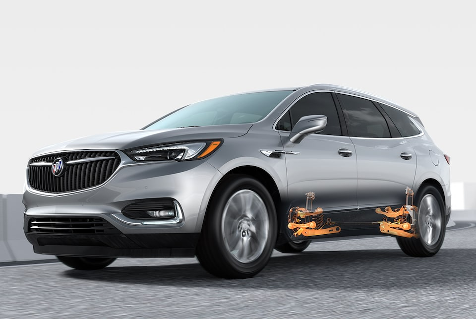 2020 Buick Enclave mid-size luxury SUV Performance Features Five Link Rear Suspension