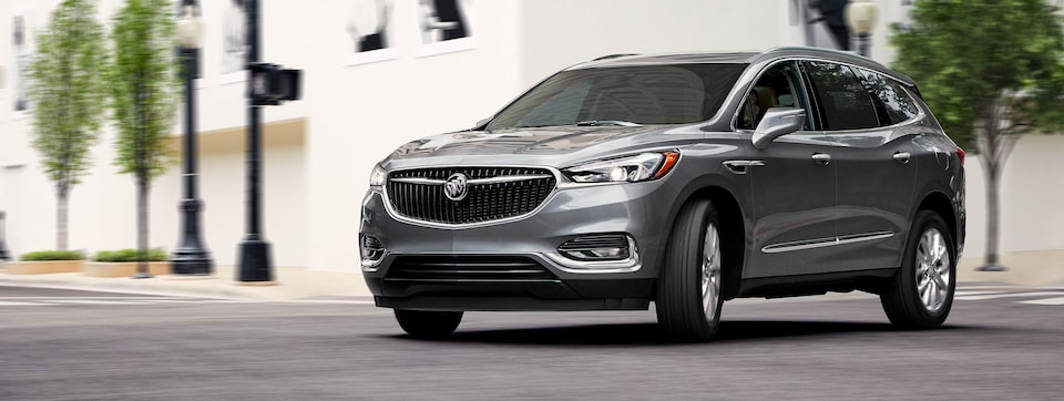 2020 Buick Enclave Mid-Size SUV Driving on road