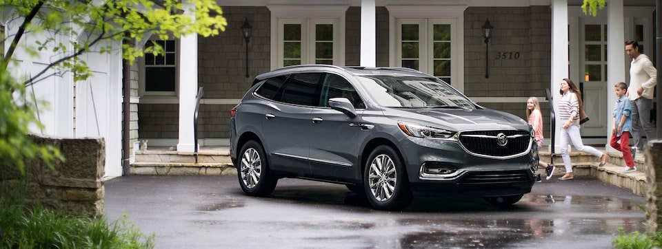 2020 Buick Enclave Mid-Size SUV Front Passenger Side Exterior