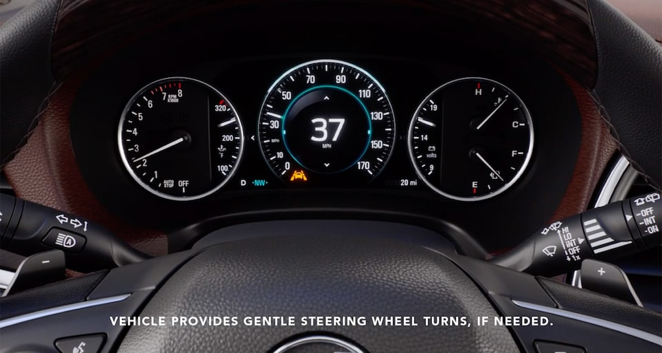 2020 Buick Enclave Mid-Size Luxury SUV Safety Features Lane Departure | Buick