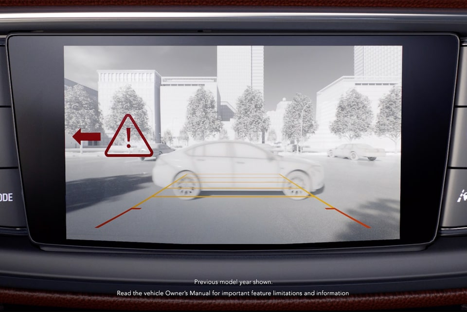 2020 Buick Enclave Mid-Size Luxury SUV Safety Features Rear Crossing | Buick