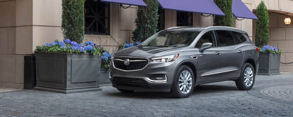 2020 Buick Enclave Mid Size SUV Front Driver Side Exterior