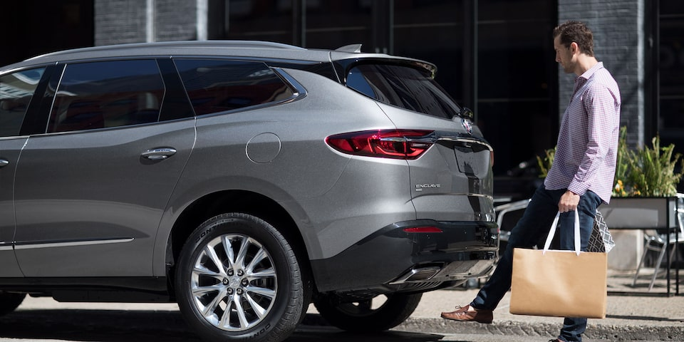 2020 Buick Enclave Mid Size SUV with Hands Free Liftgate