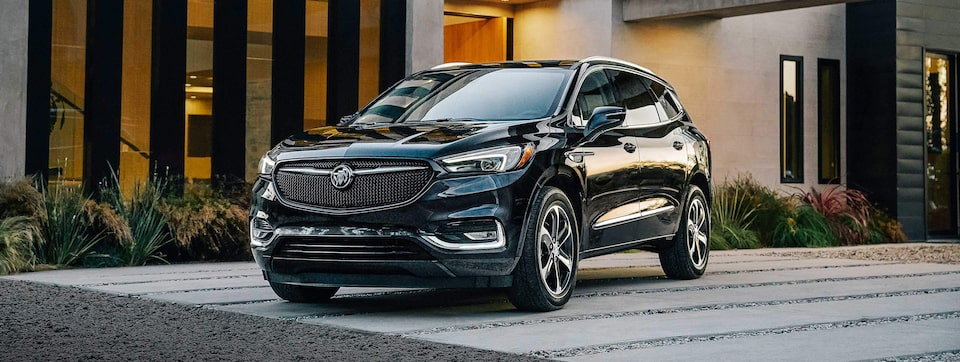 2020 Buick Enclave Mid Size SUV Front Side Exterior