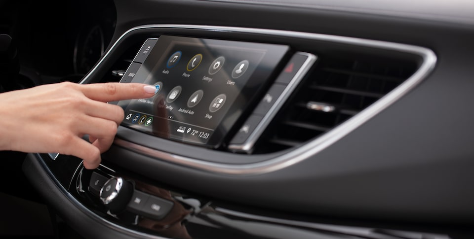 2020 Buick Enclave Mid Size SUV with Infotainment System