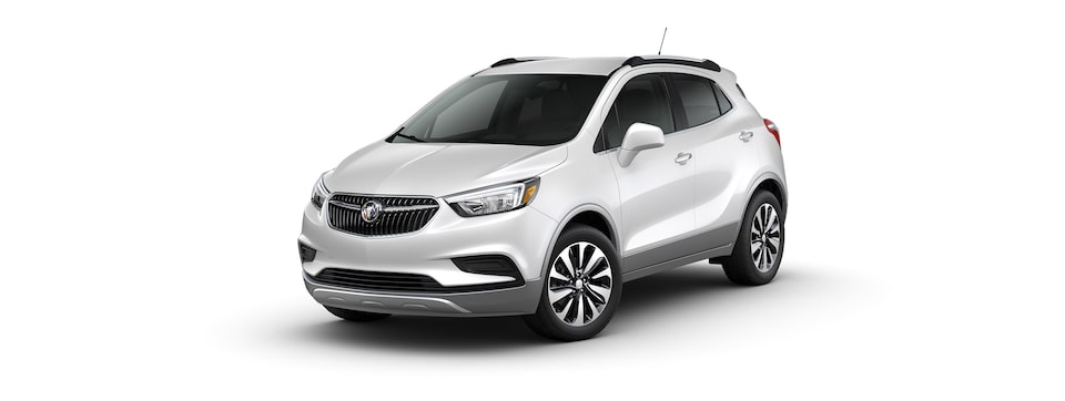 2021 Buick Encore Small SUV in White Frost Tricoat