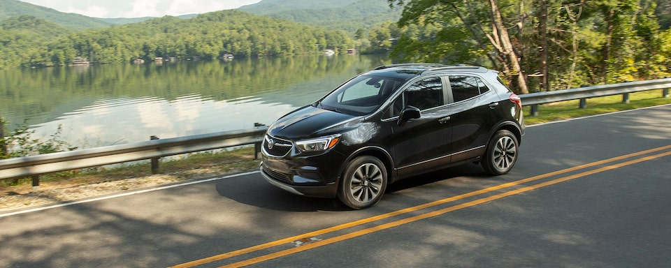 2021 Buick Encore Small SUV Exterior Front Side View