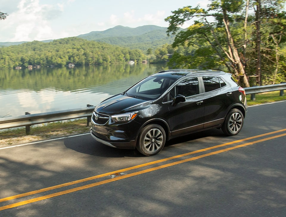 2021 Buick Encore Small SUV Front Side View