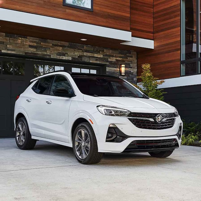2021 Buick Encore GX ST Sporty SUV front angle view