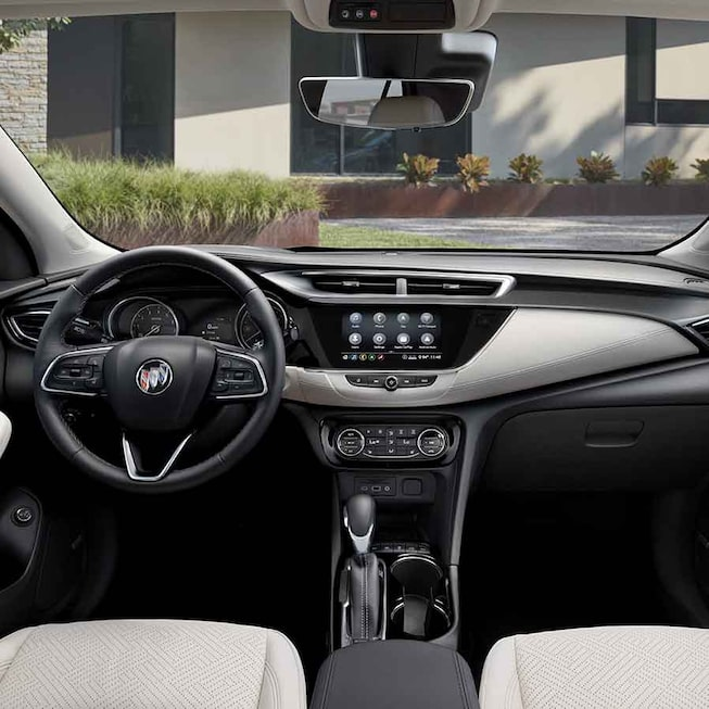 2021 Buick Encore GX ST Sporty SUV interior view of dashboard