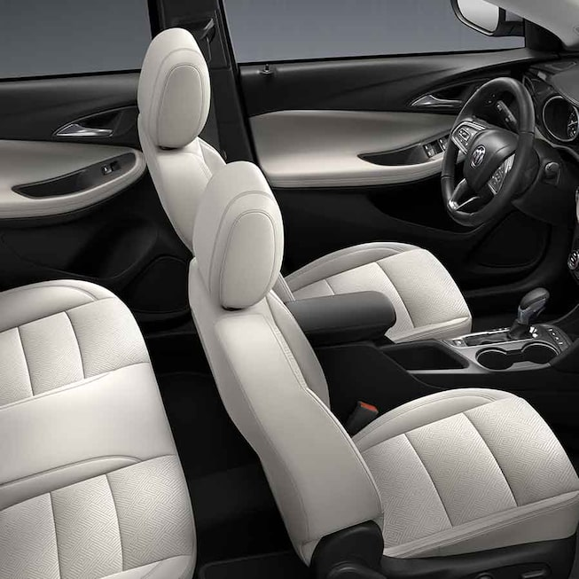 2021 Buick Encore GX ST Sporty SUV interior seating view