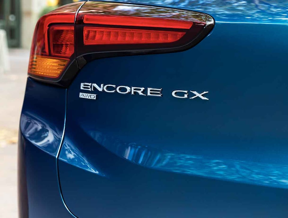 2021 Buick Encore GX Small SUV with Encore GX AWD Badge
