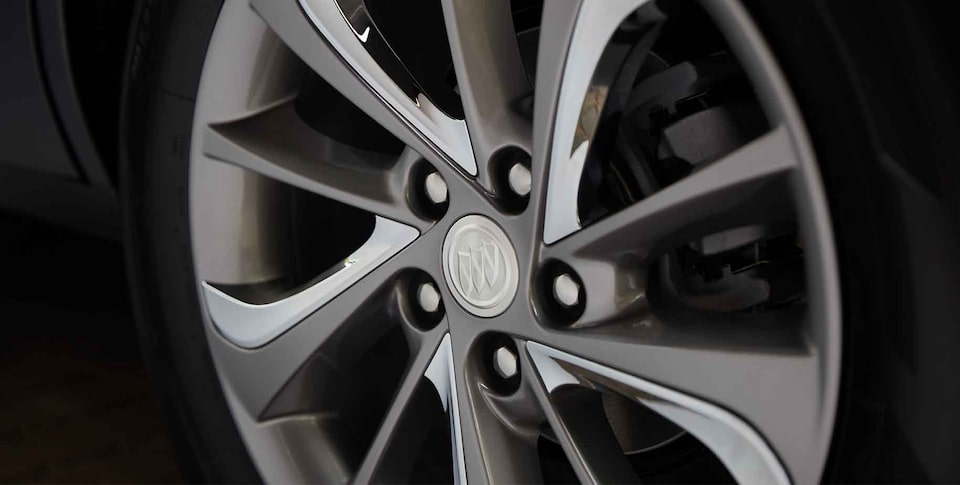 2021 Buick Encore GX Small SUV rims close up