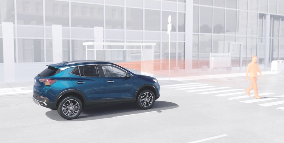 2020 Buick Encore GX Small SUV with Front Pedestrian Braking