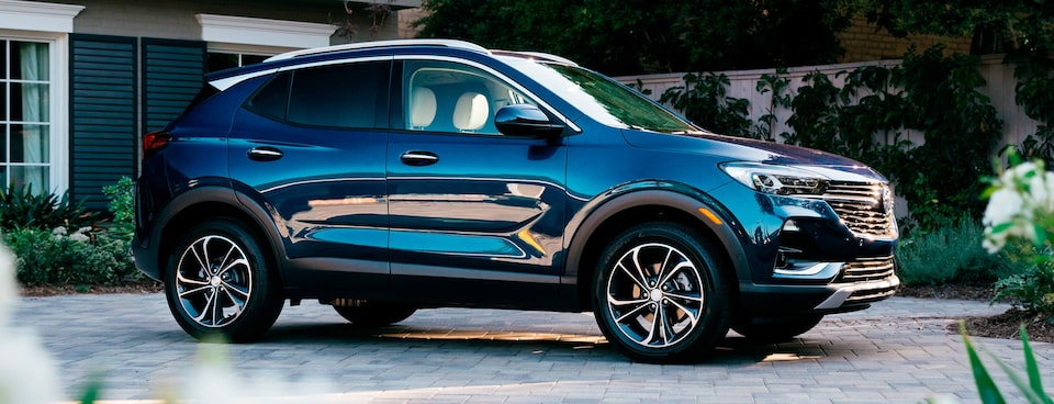 2020 Buick Encore GX Small SUV front angle exterior view