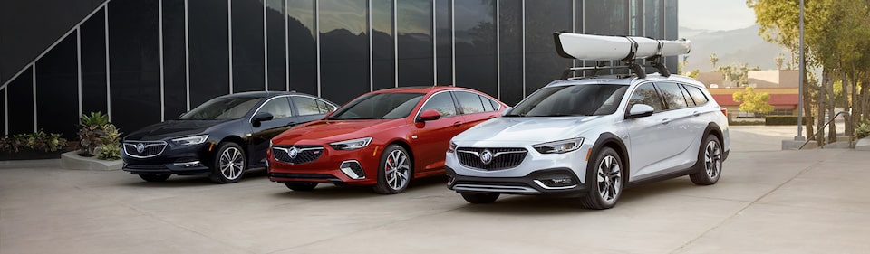 Buick Regal Lineup: Regal Avenir, Regal GS, Regal TourX
