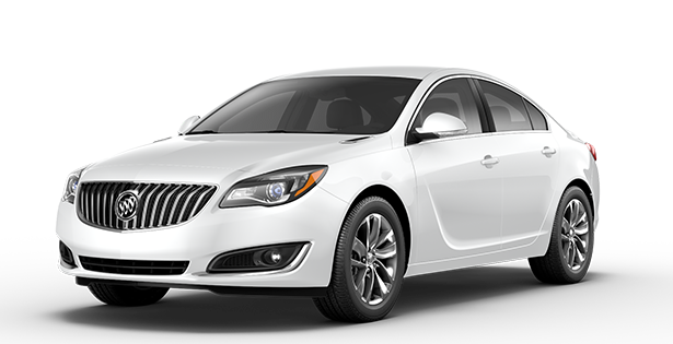 Image showing the base trim for the 2017 Buick Regal mid-size luxury sedan.