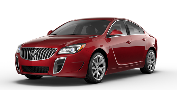 Image showing the GS trim for the 2017 Buick Regal mid-size luxury sedan.