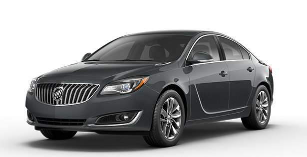 Image showing the Regal trim for the 2017 Buick Regal mid-size luxury sedan.