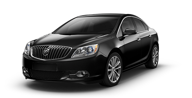 Image showing the leather trim of the 2017 Buick Verano small luxury sedan.