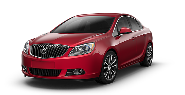Image showing the sport touring trim of the 2017 Buick Verano small luxury sedan.