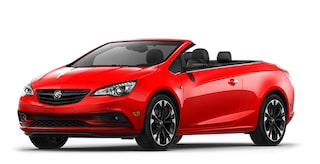 Jellybean image showing the 2018 Buick Cascada luxury convertible in sport red.