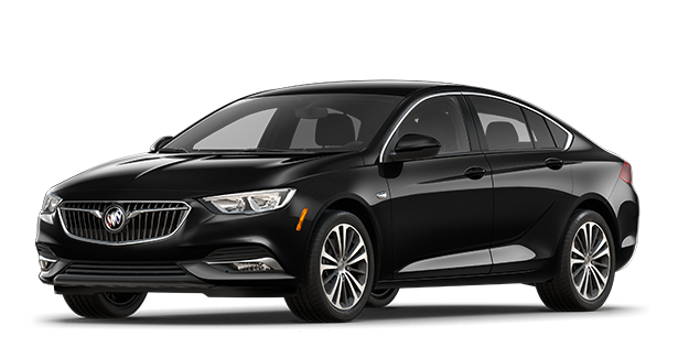 Image showing the second preferred trim for the 2018 Buick Regal Sportback mid-size luxury sedan.