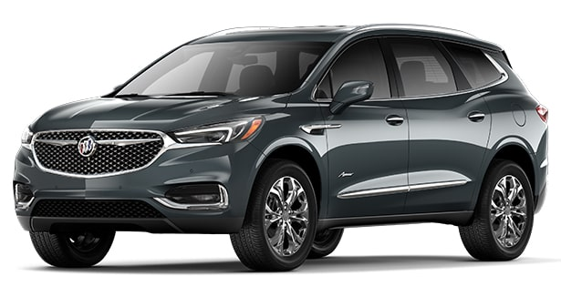 Jellybean image for the 2018 Buick Enclave Avenir mid-size luxury SUV.