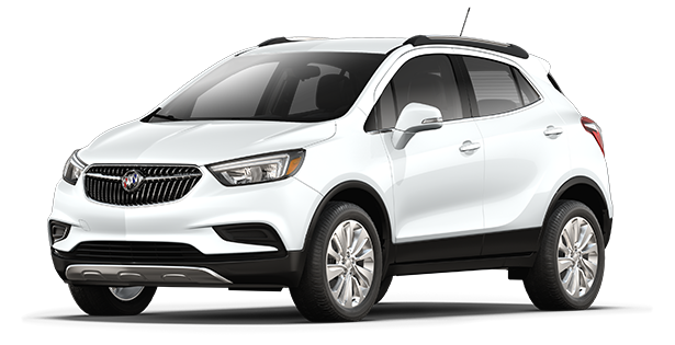 2018 Buick Encore compact luxury SUV.