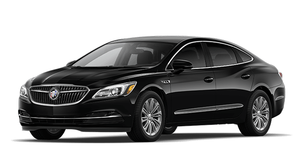 Jellybean image showing the base trim for the 2019 Buick LaCrosse full-size luxury sedan.