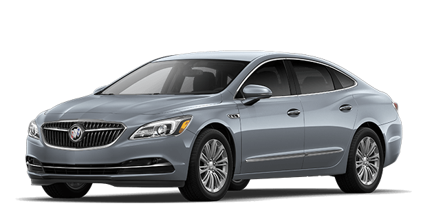 Jellybean image showing the Essence trim for the 2019 Buick LaCrosse full-size luxury sedan.