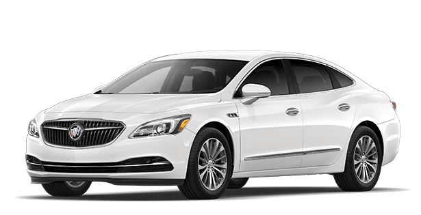 Jellybean image showing the Preferred trim for the 2019 Buick LaCrosse full-size luxury sedan.