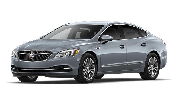 Jellybean image showing the Premium trim for the 2019 Buick LaCrosse full-size luxury sedan.