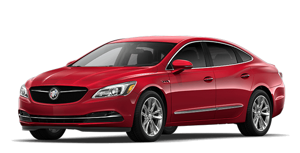 Jellybean image showing the Sport Touring trim for the 2019 Buick LaCrosse full-size luxury sedan.