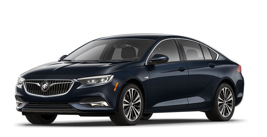 2019 Regal Sportback in Dark Moon Blue Metallic