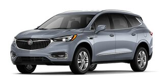 Jellybean image showing the 2019 Buick Enclave mid-size luxury SUV in satin steel metallic.