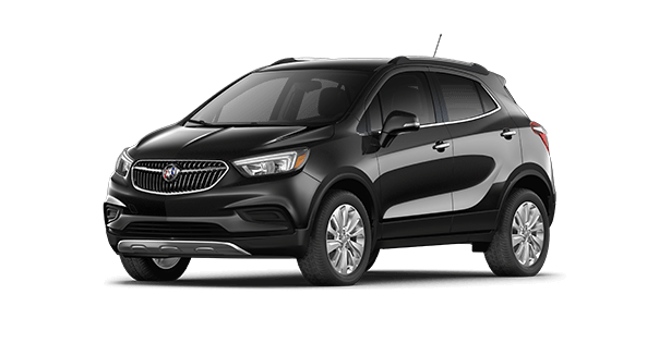 Jellybean image of the base trim of the 2019 Buick Encore small luxury SUV.