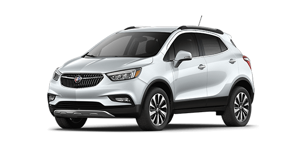 Jellybean image of the Essence trim of the 2019 Buick Encore small luxury SUV.