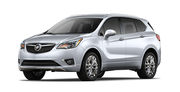Image showing the Preferred trim for the 2019 Buick Envision compact luxury SUV.