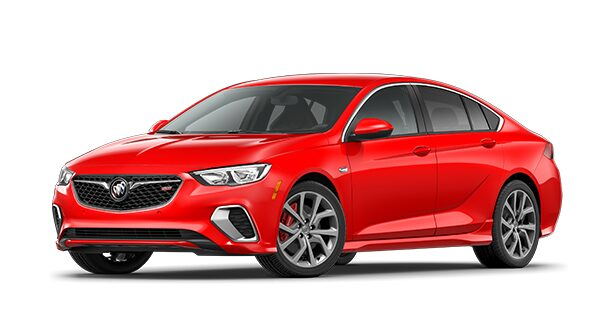 2020 Buick Regal GS Mid-Size Luxury Sedan in Sport Red